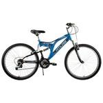 Tunca Ats-516 Atlas 24 Jant 21 Vites Amortisörlü Bisiklet - Mavi