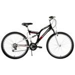 Tunca ATS-517 Atlas 26 Jant 21 Vites Amortisörlü Bisiklet - Siyah