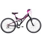 Tunca Ats-709 Tudor 24 Jant 21 Vites Amortisörlü Kız Bisikleti - Siyah