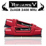 G.Skill RipjawsV 2x4GB Desktop Bellek (F4-2400C15D-8GVR)