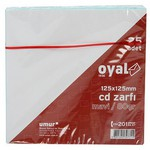 Oyal Cd Zarfı 125 X 125 Mm 80 Gr 25'li