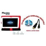"Flaxes FDK-900K Üniversal 9"" Kırmızı Tablet Kılıfı"