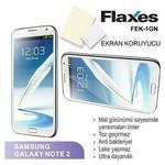 Flaxes Fek-1gn Flaxes Fek-1gn Galaxy Note 2 Uyumlu Mat Ekran Koruyucu
