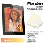 Flaxes Fek-3ıp Flaxes Fek-3ıp Ipad 3 Mat Ekran Koruyucu