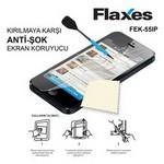 Flaxes Fek-55ıp Iphone 5 Uyumlu Anti Şok Ekran Koruyucu