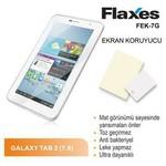 Flaxes Fek-7g Flaxes Fek-7g Galaxy Tab 2 Mat Ekran Koruyucu 7 Inch