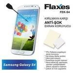 Flaxes Fek-s4 Flaxes Fek-s4 Galaxy S4 Uyumlu Anti-şok Ekran Koruyucu