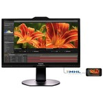 "Philips 241P6VPJKEB-00 23.8"" 5ms 4K Ultra HD Monitör"