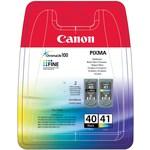 Canon PG-40+CL-41 2'li Siyah+Renkli Kartuş