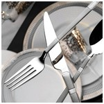 Kütahya Porselen Silverspot 89 Parça Çatal Bıçak Takımı