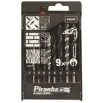 Black & Decker X56005 9 Parça Karışık Matkap Ucu Seti