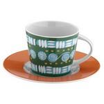 Mitterteich 86605 Desen Çay Fincanı Ve Tabağı