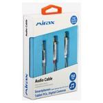 Mirax Ses transfer kablosu, Apple&Android (Samsung, Sony, HTC, LG) uyumlu, 3.5mm to 2