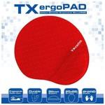 TX ACMPAD01RD ErgoPad Plus Bilek Jel Destekli Kırmızı Mousepad (250x220x5mm)