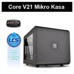 Thermaltake Core V21 Micro Tower Kasa (CA-1D5-00S1WN-00)