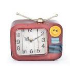 İhouse 39007 Dekoratif Metal Saat Narçiçeği