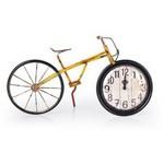 İhouse 39010 Dekoratif Metal Saat Sarı