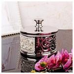 İhouse 4133 Dekoratif Şekerlik Gümüş
