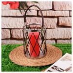 İhouse 52942 Dekoratif Mumluk Cam