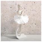 İhouse 54012 Dekoratif Biblo Beyaz