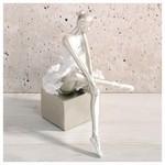 İhouse 54014 Dekoratif Biblo Beyaz