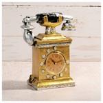 İhouse 54216 Dekoratif Masa Saati Sarı