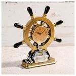 İhouse 54218 Dekoratif Masa Saati Sarı