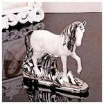 İhouse 6143 Porselen Biblo Beyaz
