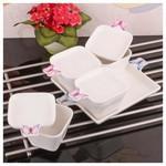 İhouse 8013 Porselen Kahvaltılık Beyaz