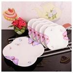 İhouse 8015 6 Parça Pasta Takımı Beyaz