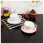 İhouse 8406 Porselen Kahve Ikram Seti Karma