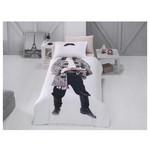 Clasy Korsan Digital 3d Nevresim Tek Kişilik Beyaz