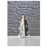 İhouse Gd14 Dekoratif Gelin Damat Biblo Beyaz