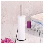 İhouse Hal0004 Metal Tuvalet Fırçalığı Beyaz