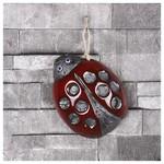 İhouse Ih120 Uğur Böceği Duvar Süsü Kırmızı