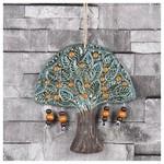 İhouse Ih129 Tuğba Ağacı Nazar Boncuklu Duvar Süsü Mavi