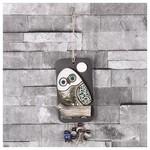 İhouse Ih139 Tekli Baykuş Duvar Süsü Sarı