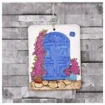İhouse Ih164 Bodrum Kapı Manzaralı Duvar Süsü Beyaz