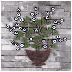 İhouse Ih307 Ağaç Dalı Nazarlık Eskitme Siyah