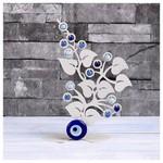 İhouse Ih357 Nazarlıklı Masa Üstü Dekoratif Obje Beyaz