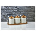 İhouse Pj17 Porselen Baharatlık Beyaz