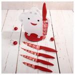Rooc 0010 Standlı Seramik Bıçak Seti Beyaz
