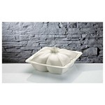 İhouse Rx06 Porselen Fırın Kabı Beyaz