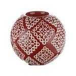 İhouse Xy06e Dekoratif Şamdan Kırmızı
