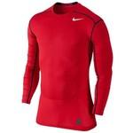 Nike 801231-657 Hypercool Comp Ls Top Erkek Tişört 801231-657