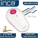 Inca IWM-BP334TR Kablosuz Mouse - Beyaz/Pembe