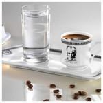 Arte Bianco Destan Tepsili Kahve Seti