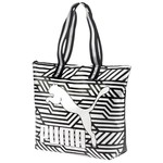 Puma Archive Large Shopper Pu Black-White-Gra Kadın Çanta 073783-