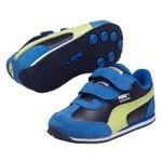 Puma 354348-14 Whirlwind L V Strong Blue Çocuk Spor Ayakkabı 3543