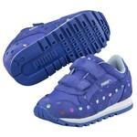 Puma ST Runner Dotfetti V dazzling blue Çocuk Spor Ayakkabı 35982